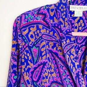 Vintage 80s secretary blouse